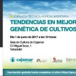 Día 1 de junio. Jornada 'Tendencias en mejora genética de cultivos'