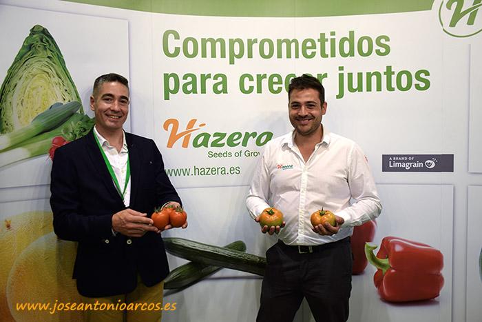 Tomates de Hazera en InfoAgro Exhibition 2017, Corredor y Nikomate.