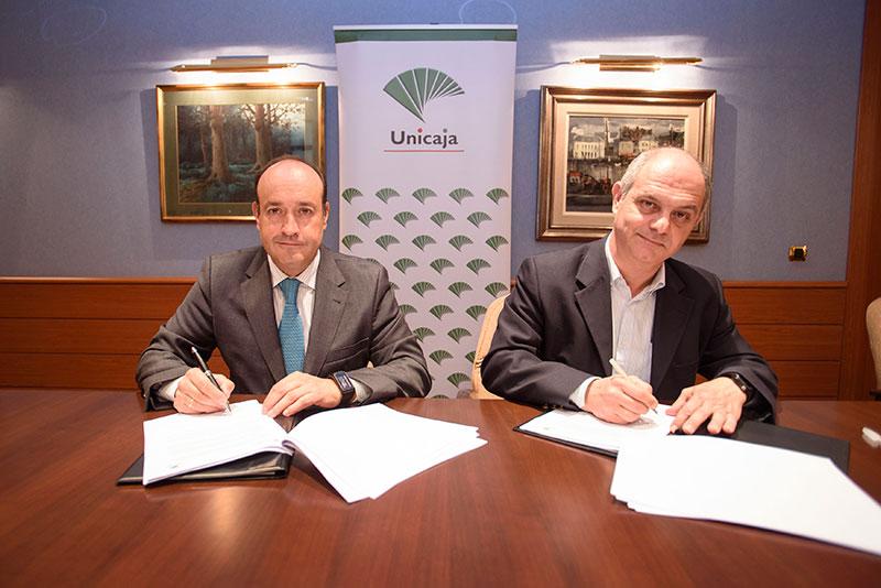 Unicaja Banco y  Campomar seguirán trabajando juntos