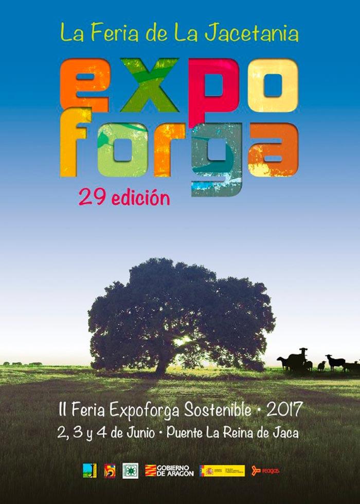 Día 2, 3 y 4 de junio. Expoforga, la Feria de la Comarca de la Jacetania. Huesca