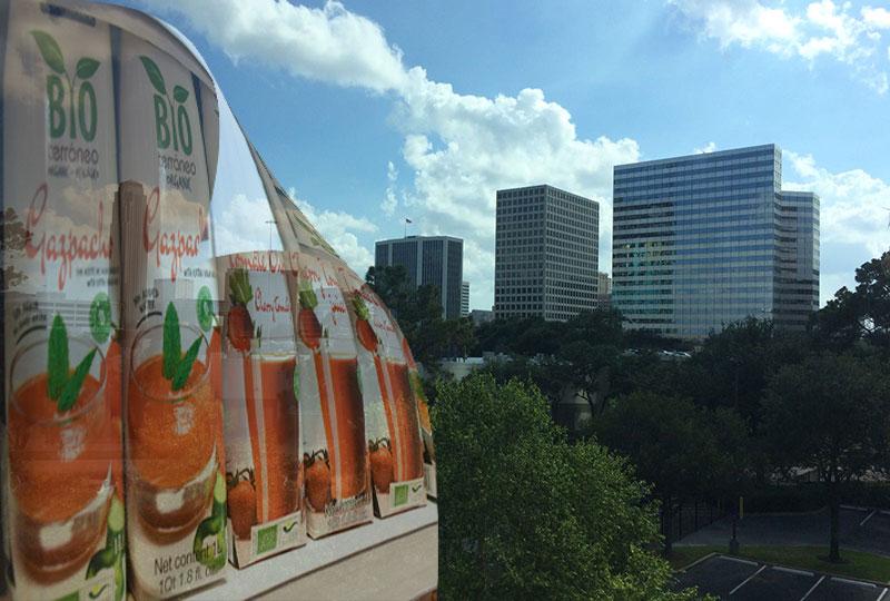 Houston y Miami beben gazpacho almeriense