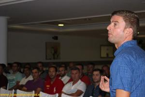 Eloy Ibáñez es técnico de campo de MAGAR, en El Ejido, Almería.