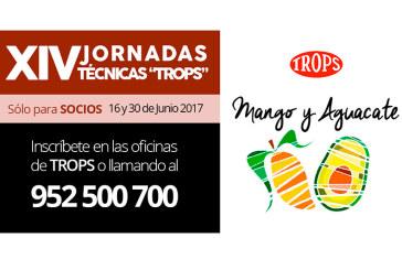 """Días 16 y 30 de junio. XIV Jornadas técnicas """"TROPS"""" mango y aguacate"""