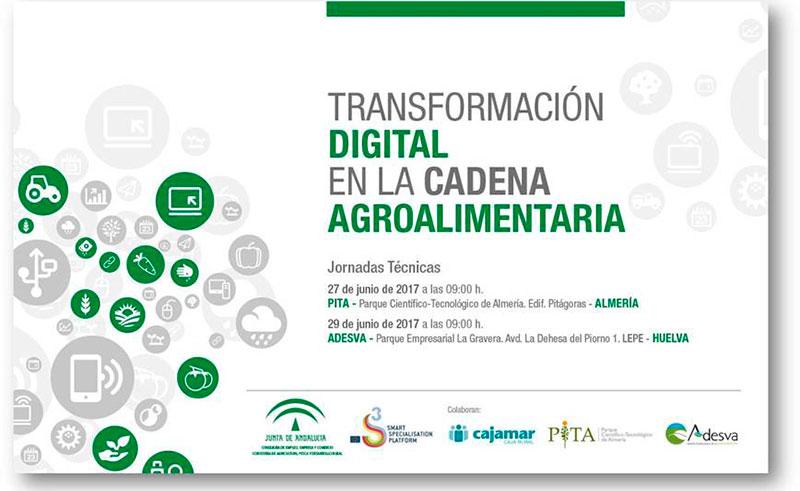Transformación digital en la cadena agroalimentaria