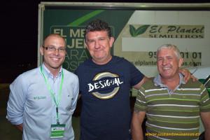 Miguel Ángel Fernández, Alberto Lasheras y José Manuel Fernández.