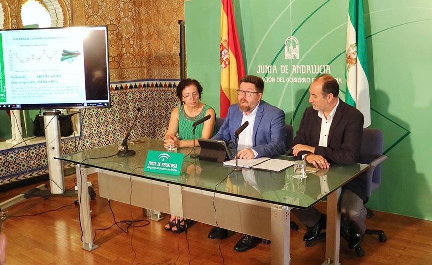 Balance de la campaña hortofrutícola presentado esta mañana en la capital almeriense.