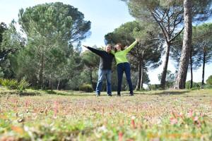 Entorno del Parque Nacional de Doñana, en Huelva.