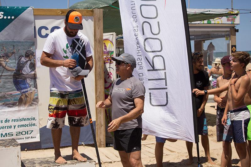 Citrosol refresca el verano con el patrocinio del circuito Sup Race Mediterráneo en las playas de Gandía
