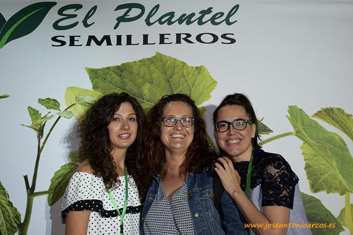 Noelia Robles, Ana Rubio y Noemí Fernández.
