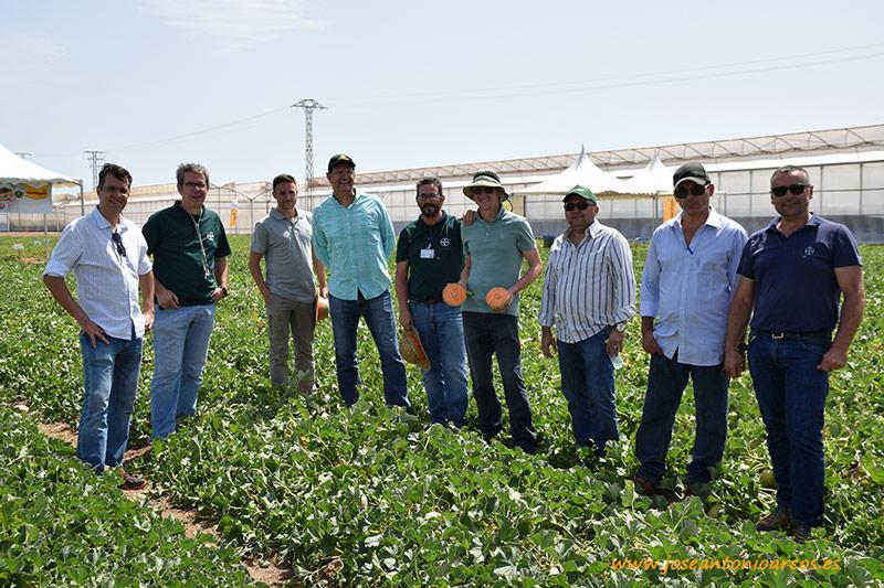 Agrícola Famosa. Productores brasileños en las jornadas de Nunhems.