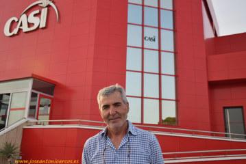 Miguel Vargas, candidato a presidir CASI. Una tarde después del invernadero