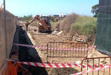 Coexphal acaba la obra para la conducción de agua  de la desaladora de Almería