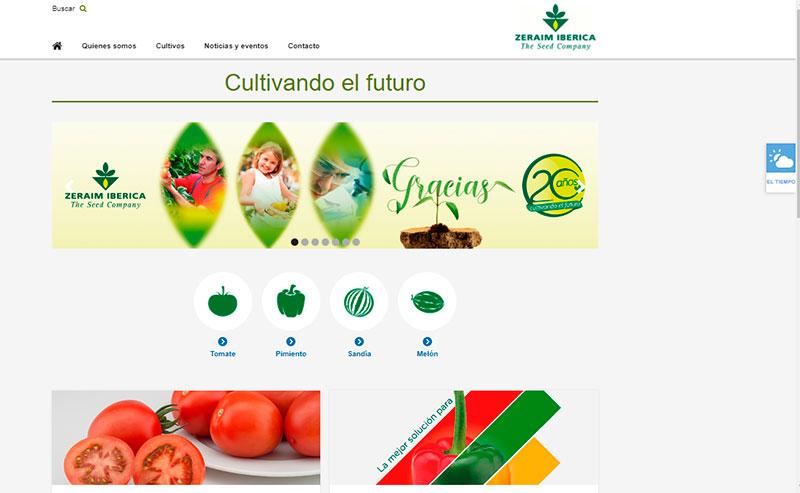 Zeraim Ibérica estrena web coincidiendo con su 20 Aniversario