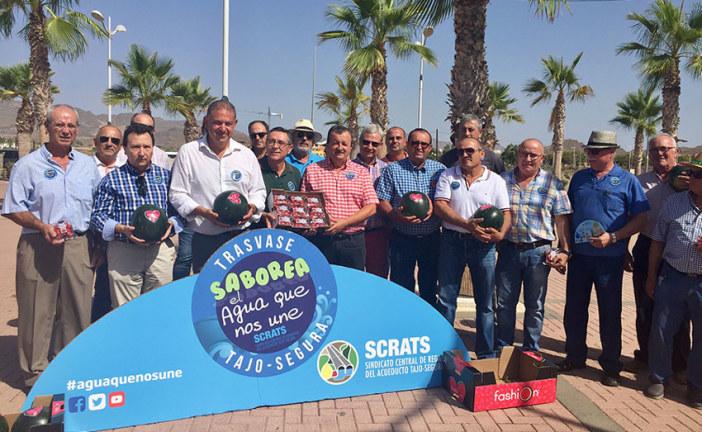 Regantes de Alicante, Murcia y Almería se unen en Pulpí para reclamar nuevos trasvases para el sureste español