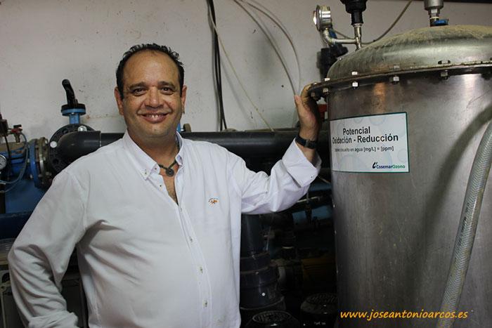 Ángel Manuel Sereno, director de Cosemar Ozono.