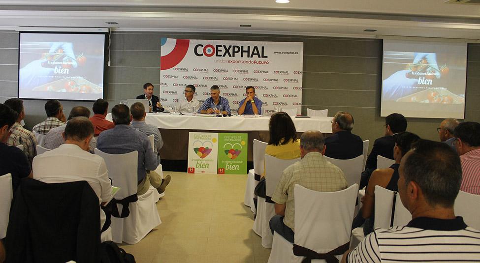 Asamblea General de Coexphal.