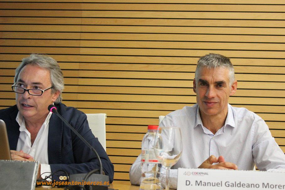 Jorge Brotons, izquierda;  y Manuel Galdeano, derecha.