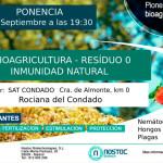 Día 29 de septiembre. Bioagricultura- residuo cero e inmunidad natural. Huelva