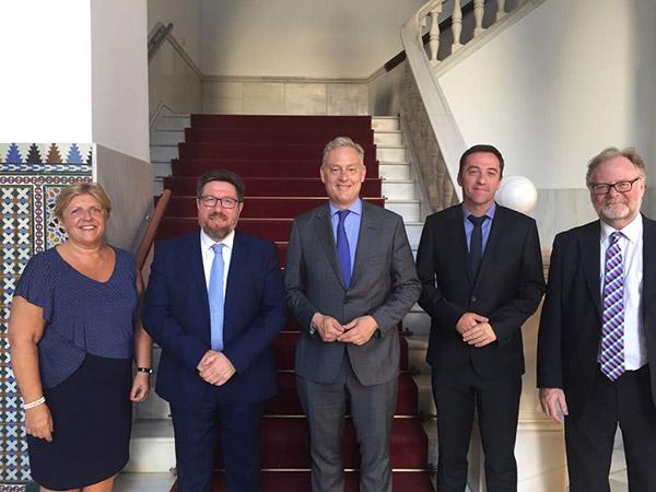 Brexit. Reunión celebrada en Sevilla para abordar el problema del Brexit británico