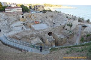 Anfiteatro de Tarraco, Tarragona, Catalunya.