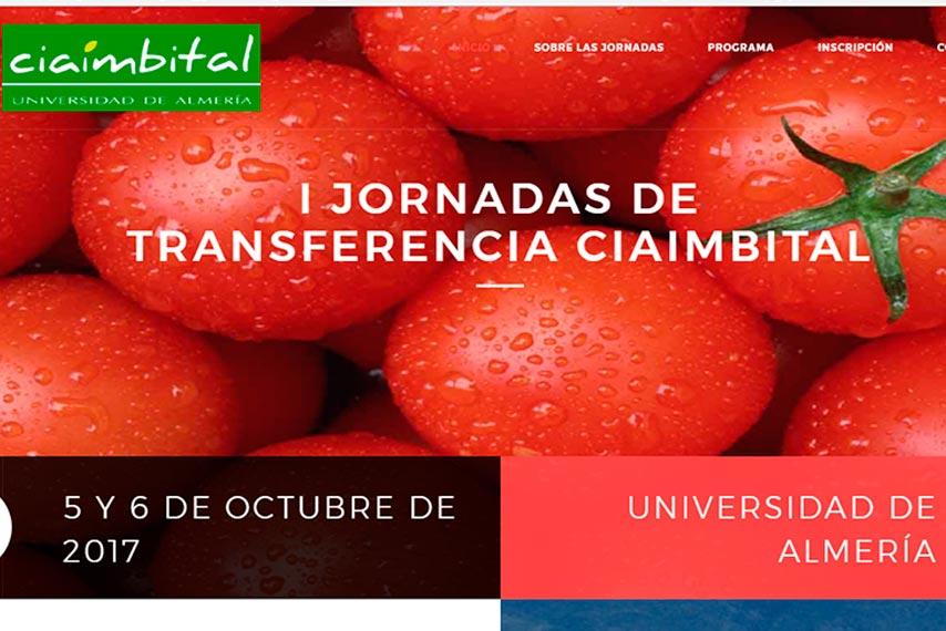 Días 5 y 6 de octubre. I Jornadas de Transferencia CIAIMBITAL. Almería