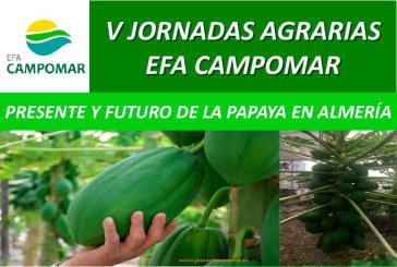 Día 27 de septiembre. V Jornadas Agrarias EFA Camponar. La papaya en Almería