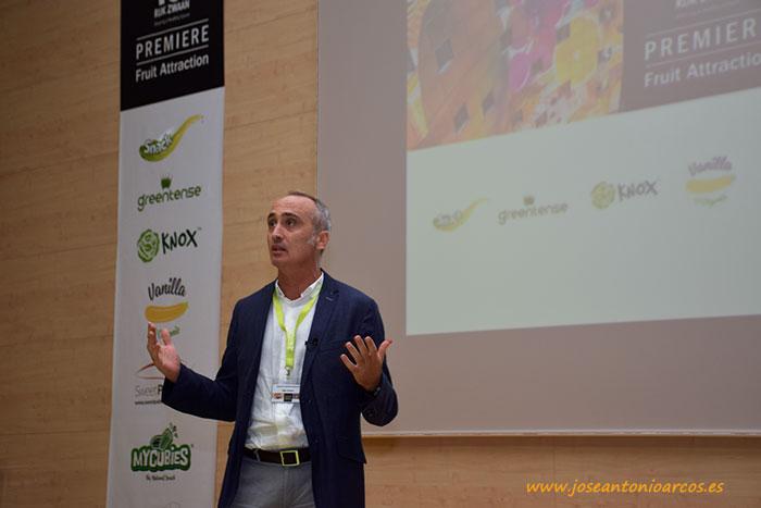 Alberto Cuadrado durante la presentación.