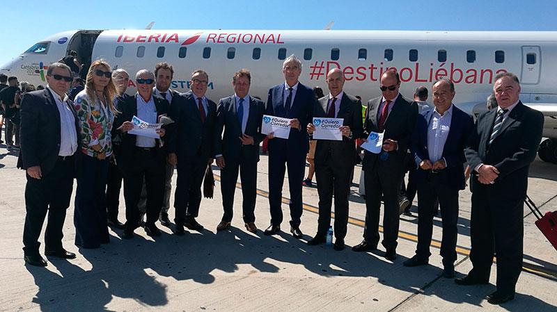 Los empresarios de Almería piden el Corredor Mediterráneo.