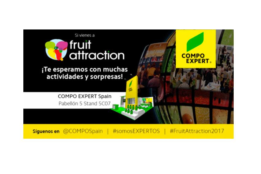 Días 18,19 y 20. COMPO organiza 'EXPERT TALKS' en Fruit Attraction. Quién, cómo... y cuándo