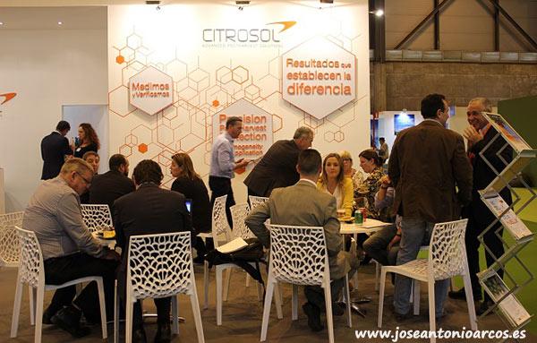 Expositor de Citrosol en Fruit Attraction 2017.