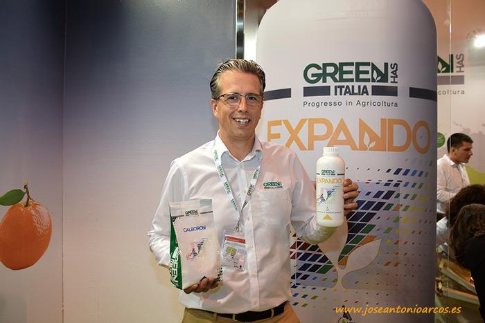 Francisco J. Díaz Antúnez, delegado comercial en Almería de Green Has Iberia.