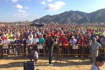 Miles de regantes del Almanzora exigen garantía de agua a un precio justo