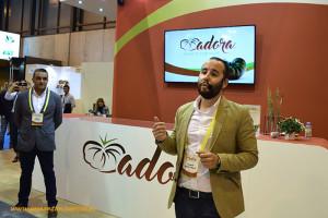 Manuel Ruiz Ayala. Presentación del tomate único de HM Clause en Madrid, en Fruit Attraction. Adora