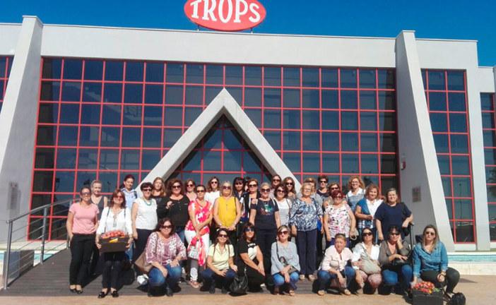 Jornada de convivencia. Mujeres de Cabasc visitan la cooperativa Trops