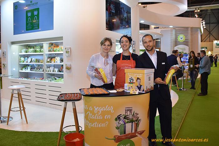 Promoción de Sweet Palermo en Fruit Attraction 2017.
