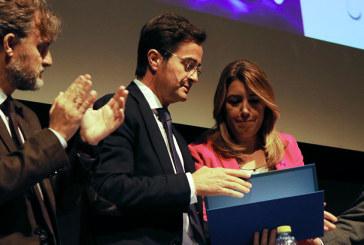 Susana Díaz anuncia en El Ejido nuevas concesiones en materia de agua