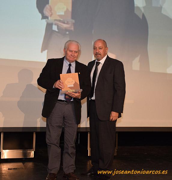 El chef Antonio Gázquez con el director de IDEAL Almería, Ángel Iturbide.