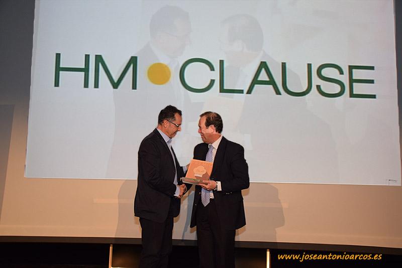 Rafael Bonet, director de HM Clause Ibérica, con Diego Vargas, director general del IDEAL.