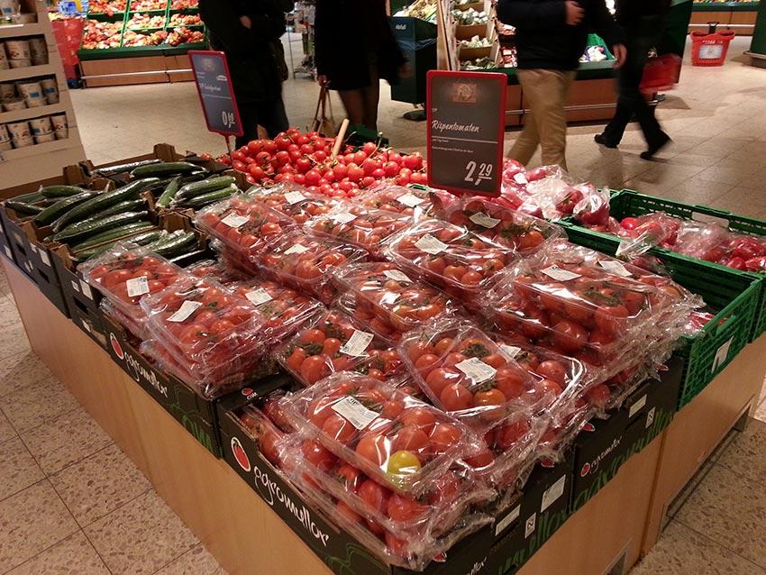 Supermercado alemán.