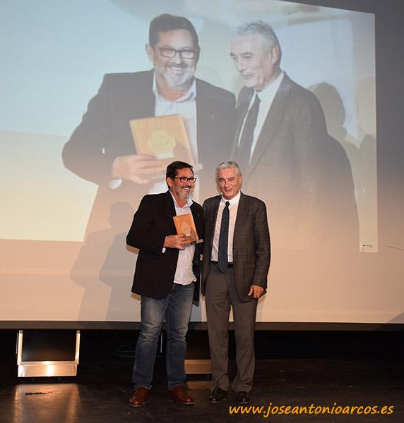 Jerónimo Pérez Parra con el presidente de Cabasc, Francisco Martín.