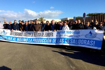 El problema del agua llega hasta la desaladora de Torrevieja