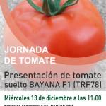 Día 13 de diciembre. Jornada de tomate de Takii Seeds