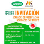 Días 14 y 15 de diciembre. Jornadas de pimiento de Vilmorin-Mikado