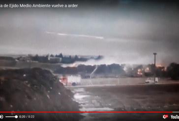 Vídeo del último incendio de Ejido Medio Ambiente