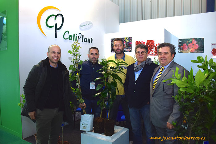 Miembros de Caliplant con responsables del Grupo Torralba, de Murcia.