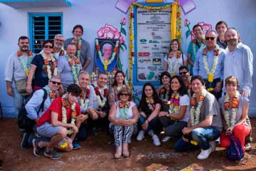Cooperativas valencianas construyen una aldea en la India