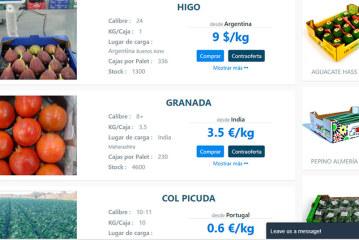 App para revolucionar la compraventa hortofrutícola