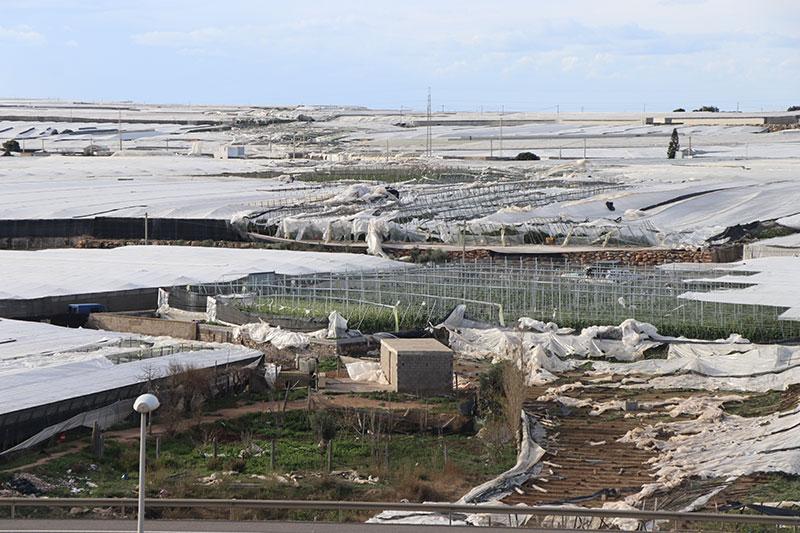 El tornado de El Ejido deja pérdidas por 40 millones de euros