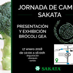 Día 17 de enero. Jornada de campo de brócoli de Sakata. Murcia