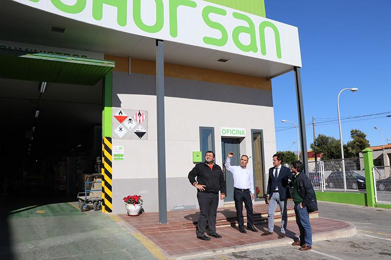 La cooperativa Cohorsan renueva su centro